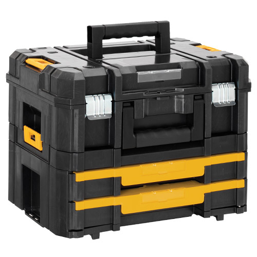 dewalt tool chest. dewalt 170702 tstak combo tool box chest b