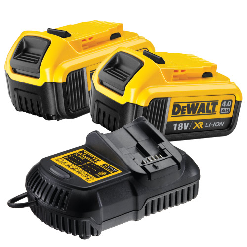 Dewalt 4AHPACK Dewalt 18v 4.0Ah Battery And Charger Pack