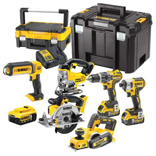 Dewalt 6DCP Dewalt 18v Lithium-Ion 6 Piece Package