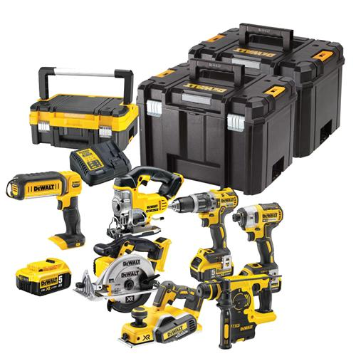 Dewalt 6DCPH Dewalt 18v Lithium-Ion 7 Piece Package