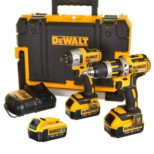 Dewalt BXR2P3 Dewalt 18v Li-ion 5.0Ah Brushless 2 Piece Pack