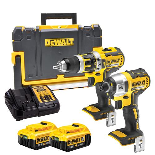 Dewalt BXR2T Dewalt 18v Li-ion 4.0Ah Brushless 2 Piece Pack