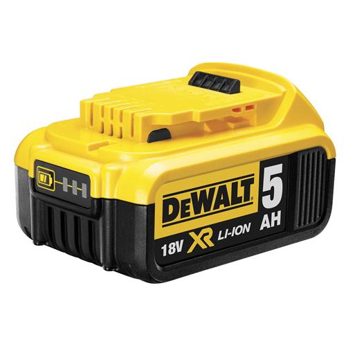 Dewalt DCB184 18v 5.0Ah XR Li-ion Slide-on Battery