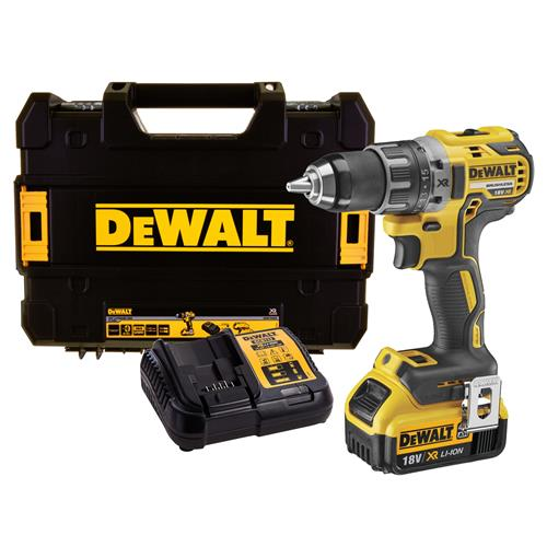 Dewalt DCD791M1 18v XR Brushless Drill Driver with 1 x 4Ah Battery, Charger and Case