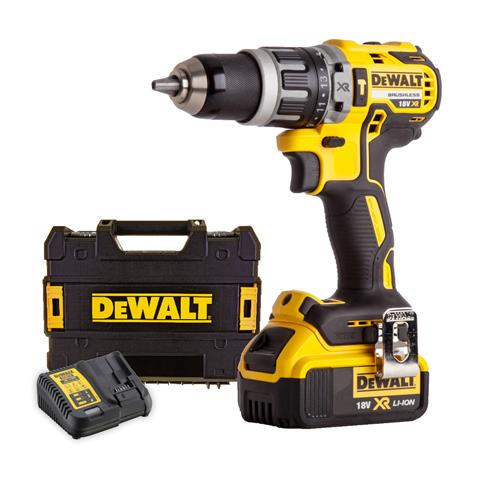 Dewalt DCD796M1 18v Brushless 2nd Generation Combi Drill - 1 x 4.0Ah