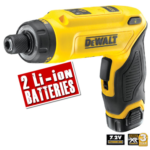 Dewalt DCF680G2 Dewalt 7.2V Cordless Motion Activated Screwdriver