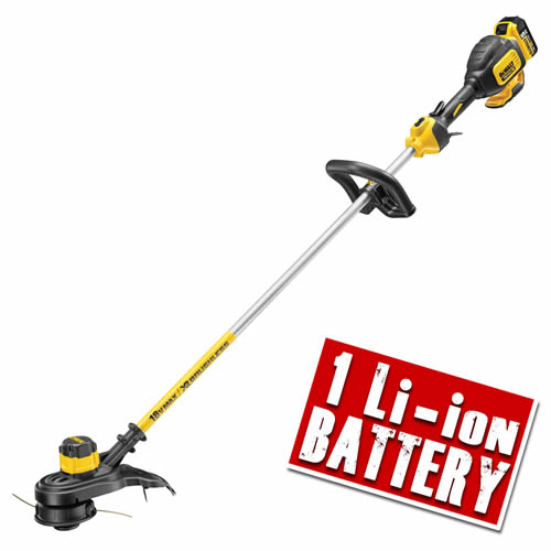 Dewalt DCM561P1 Dewalt 18v XR Brushless String Trimmer - 1 x 5.0Ah Battery