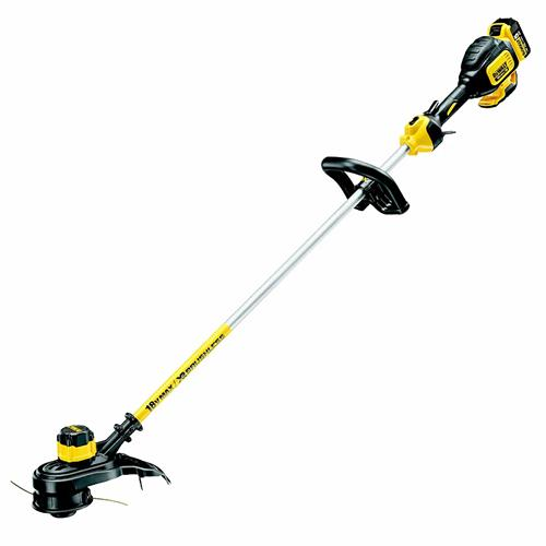 Dewalt DCMST561P1-GB 18V XR Brushless String Trimmer with 1 x 5Ah Battery and Charger