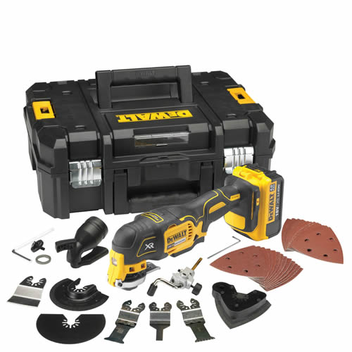 Dewalt DCS355M1 Dewalt 18v XR li-ion Brushless Oscillating Multi-Tool - 4.0Ah