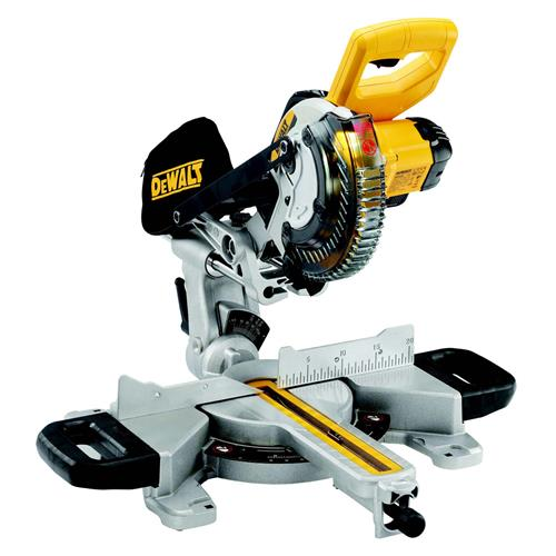 Dewalt DCS365M2 18v XR 184mm Compound Mitre Saw with 2 x 4Ah Batteries and Charger