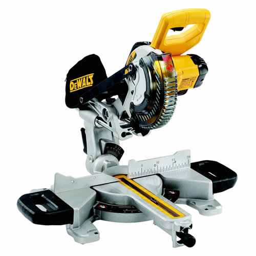 Dewalt DCS365 18v XR 184mm Compound Mitre Saw - Body