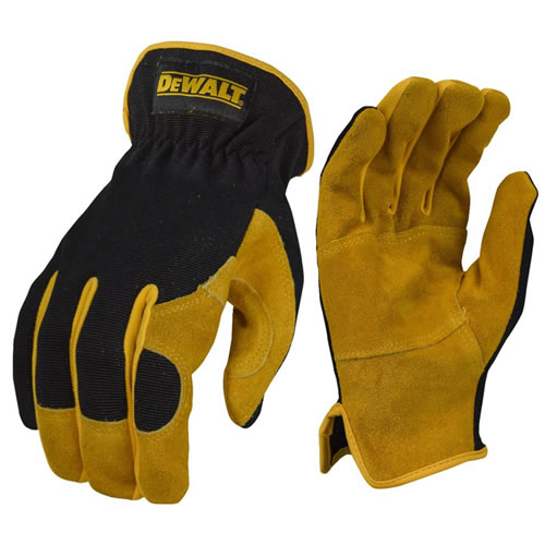 Dewalt DPG216L Leather Performance Hybrid Gloves - Large