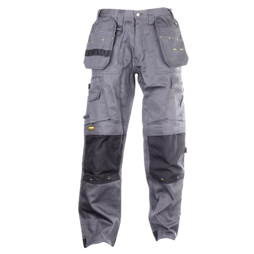 Dewalt Pro Tradesman Trousers with Holster Pockets (Grey/Black)