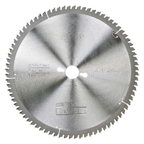 Dewalt DT4287QZ Dewalt 250mm 80 Tooth TCT Saw Blade (Fine Cutting)