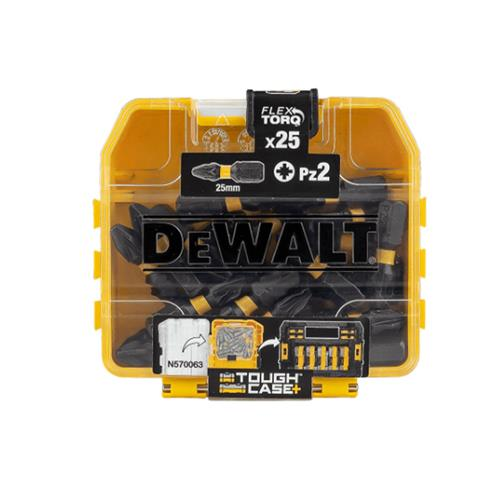 Dewalt PZ2 25mm Impact Torsion Screwdriver Bit Box - Pack of 25