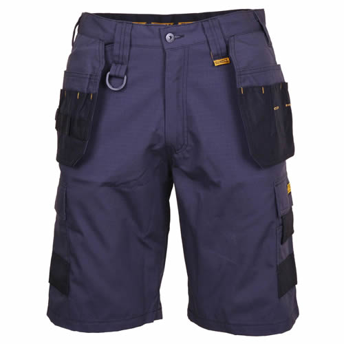 Ripstop Multi-Pocket Shorts Grey/Black