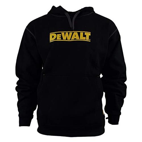 Logo Hooded Sweatshirt - Black/Yellow