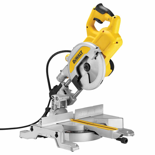 Dewalt DWS777 Dewalt 216mm Slide Mitre Saw with XPS