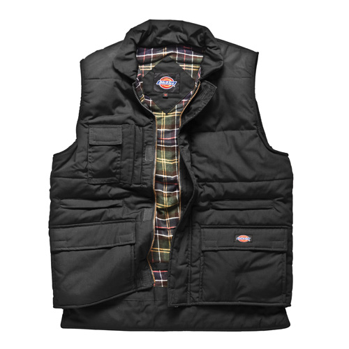 Dickies Combat Body Warmer (Black)