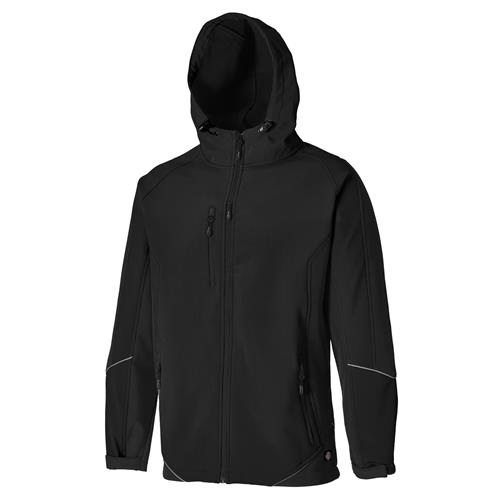 Two Tone Softshell Jacket - Black