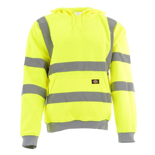 Dickies DICSA22090 Dickies Hi-Vis Hooded Sweatshirt