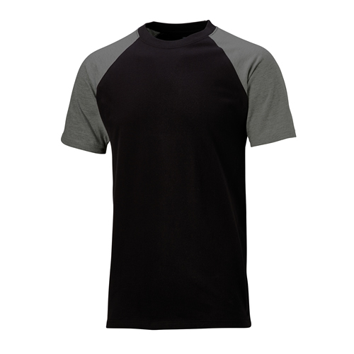 Two Tone T-Shirt Black/Grey