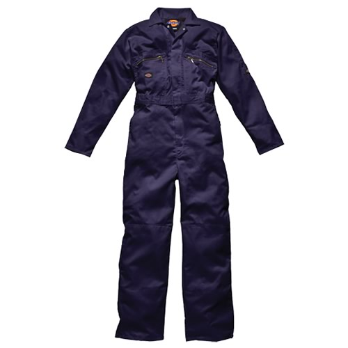 Dickies Redhawk Zip Front Coveralls (Navy)