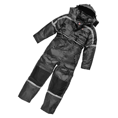 Dickies WP15000 Dickies Waterproof Padded Outer Suit (Black)