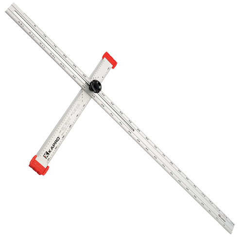 Draper 03078 (D317) Draper 1200mm Adjustable Drywall Tee Square