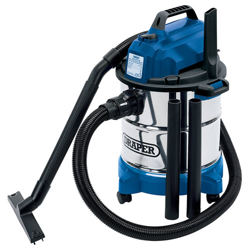 Draper 13785 Draper 20L Wet and Dry Vacuum Cleaner 240v