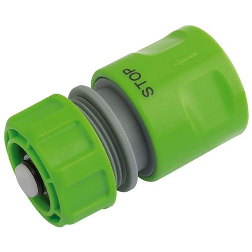 Draper 25902 Hose Connector with Water Stop Feature 1/2''