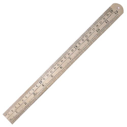 Draper 59641 (D18) Draper Steel Rule 300mm/12""
