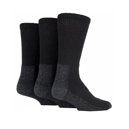 Work Force Safety Boots Socks Size 6 - 11 Pack of 3