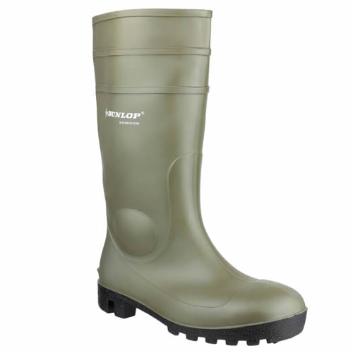 Dunlop Protomastor Full Safety Boots (Green)