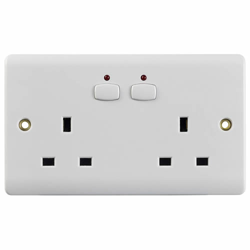 Energenie MIHO007 MiHome Double Socket - White