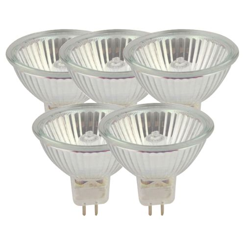 Eveready Eco Mr16 Dichroic 40W(50W) Light Bulb - Pack of 5