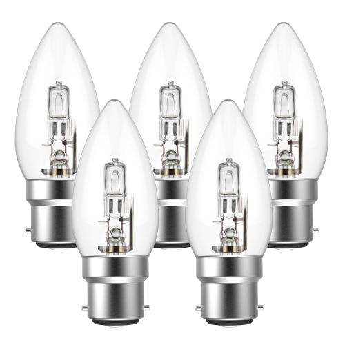 Eveready Eco Candle 30W(40W) B22 Light Bulb - Pack of 5