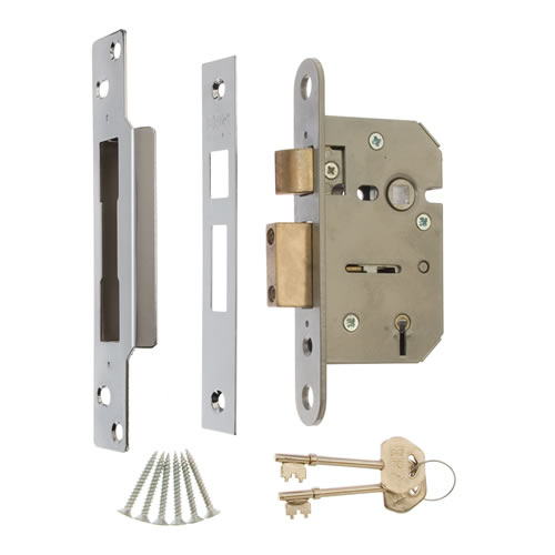 ERA 202-51 ERA Viscount 5 Lever Mortice Sashlock 64mm - Satin
