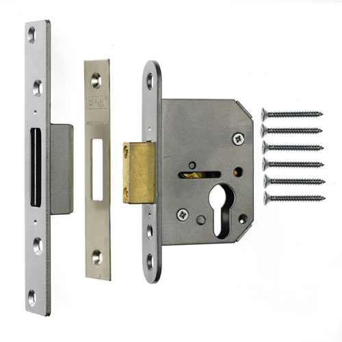 ERA 225-51 ERA Viscount Euro Deadlock 64mm - Satin