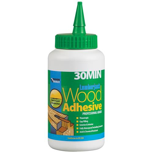 Everbuild 30MINPU7 Everbuild Polyurethane Wood Adhesive (30 Minute) 750gm