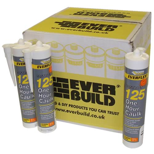 Everbuild 125C3BOX25 125 One Hour Caulk (C3) Box of 25