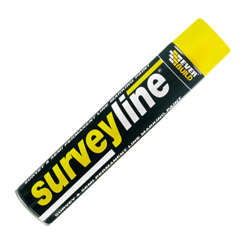 Everbuild EVESURVEYYELL Everbuild Surveyline Marking Paint (Yellow) 700ml