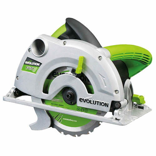 Evolution FURY 185mm Multipurpose Circular Saw 240 Volts