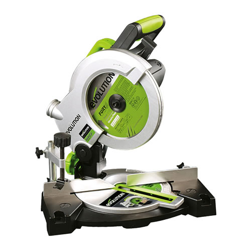 Evolution 210mm Multipurpose Compound Mitre Saw 240 Volts