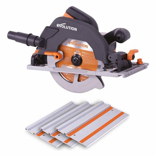 R185CCSX Multi-Material Circular Saw & Track Combo Pack