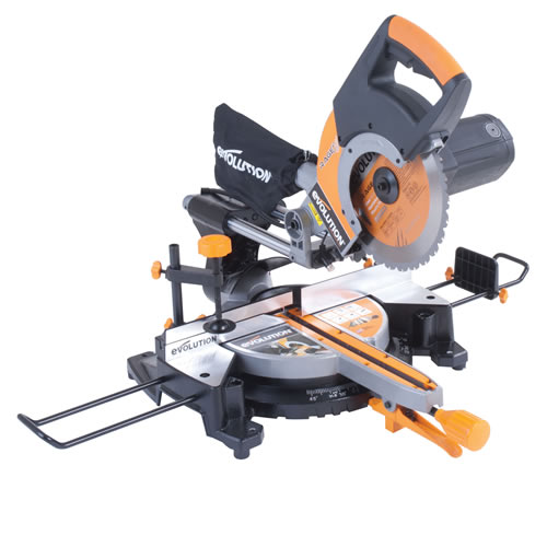 Evolution RAGE3PLUS Rage 3 Multipurpose Slide Mitre Saw