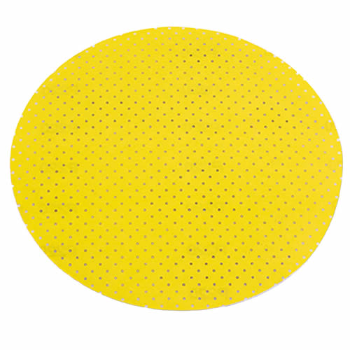 Flex 260234 Pack of 25 Flex Yellow Perforated Sanding Paper - 80 Grit