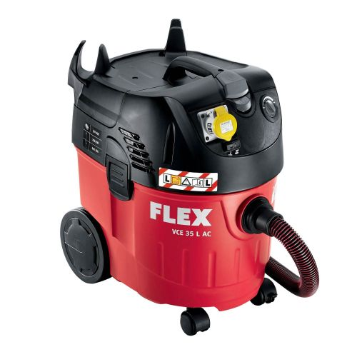 Flex Dust Extractor with Power Take Off 110 Volts