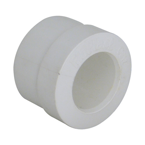 Floplast OS18 Floplast 21.5mm  x 40mm White PVCu Reducer - Pack of 10