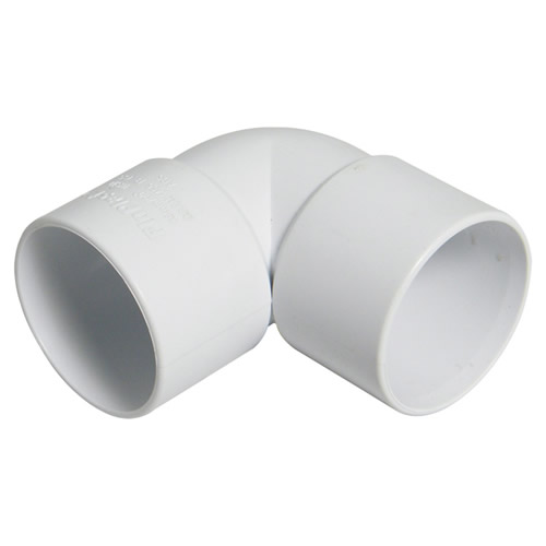 Floplast WS10 32mm White ABS 90° Bend